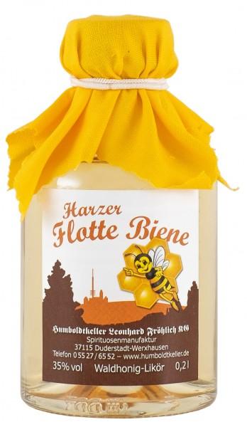 Harzer Flotte Biene - Honiglikör - 35% vol