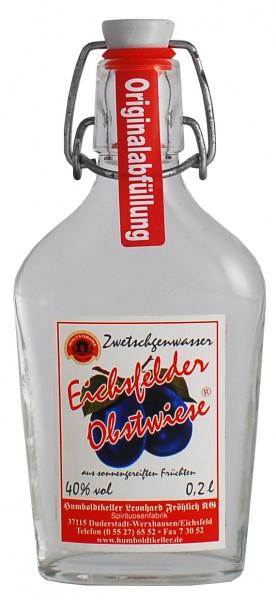 Eichsfelder Obstwiese - Zwetschenwasser - 40% vol
