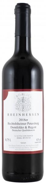 Froehlich-Weine Bechtolsheimer Petersberg Dornfelder Regent lieblich 2018