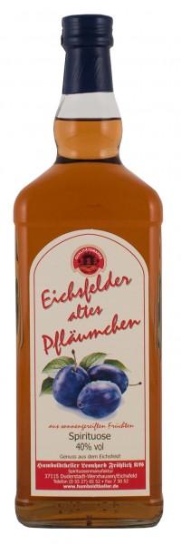 Eichsfelder altes Pfläumchen - Spirituose 40% vol