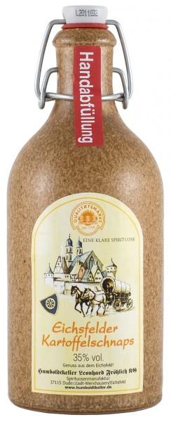Eichsfelder Kartoffelschnaps Spirituose 35% vol. - Tonkrug