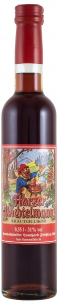 Harzer Wichtelmann - Kräuter-Likör 31% vol 350 ml