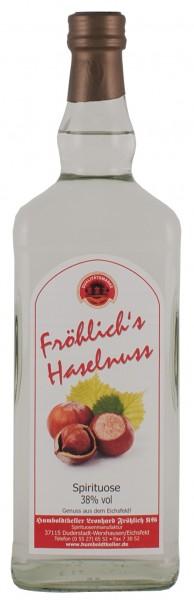 Fröhlich's Haselnuss - Spirituose - 38% vol