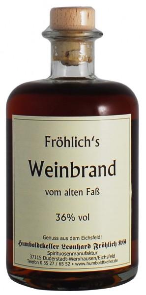 Fröhlich's Weinbrand 36% vol