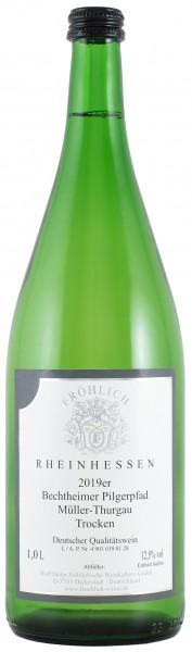 Froehlich-Weine_Bechtheimer Pilgerpfad Müller Thurgau 2019